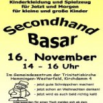 Secondhand-Winterbasar 2013 in Hemmingen
