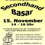 Secondhand-Winterbasar 2014 in Hemmingen